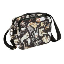 <strong>Sydney Love</strong> Cats and Dogs Nylon Rip Stop Belt Bag / Cross-Body