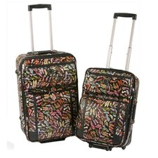 <strong>Sydney Love</strong> Stepping Out 2 Piece Luggage Set
