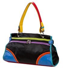 Color Block Shoulder Bag