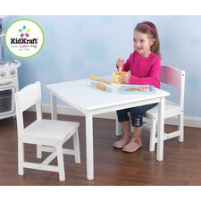 <strong>KidKraft</strong> Aspen Kids' 3 Piece Table and Chair Set