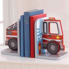 <strong>KidKraft</strong> Fire Truck Bookends (Set of 2)
