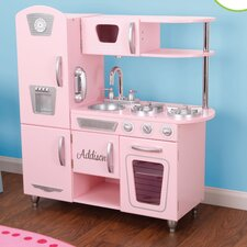 <strong>KidKraft</strong> Personalized Pink Vintage Kitchen
