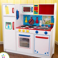 <strong>KidKraft</strong> Deluxe Let's Cook Kitchen