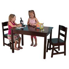 Kids 3 Piece Table & Chair Set III