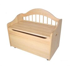 Personalized Limited Edition Kid's Storage Bench