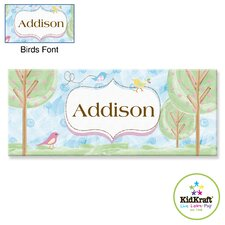 Personalized Birds Canvas