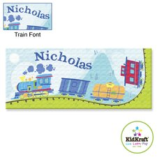 <strong>KidKraft</strong> Personalized Train Canvas