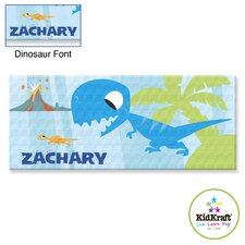 Personalized Dinosaur Canvas Art