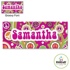 Personalized Groovy Canvas