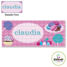 Personalized Sweets Canvas Art