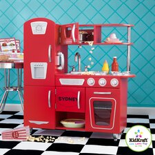 Personalized Red Vintage Kitchen