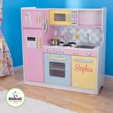 Personalized Pastel Play Kitchen Set