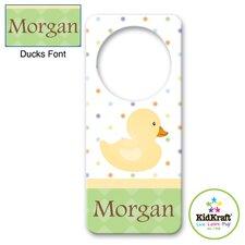 Personalized Duck Door Hanger