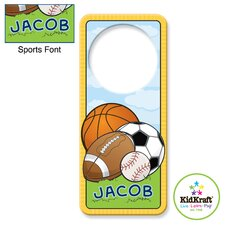 Personalized Sports Door Hanger