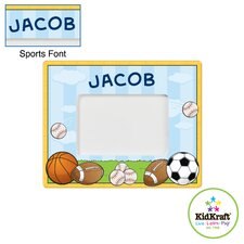 Personalized Sports Frame