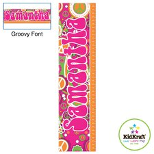 Personalized Groovy Growth Chart