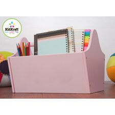 Personalized Toy Box Caddy in Pink