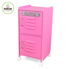 Personalized Medium Locker in Bubblegum