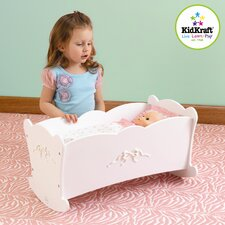 <strong>KidKraft</strong> Tiffany Bow Lil Doll Cradle