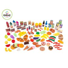 125 Piece Tasty Treats Play Food Set