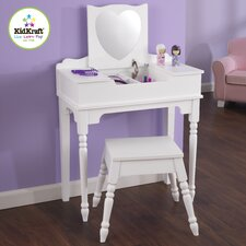 Sweetheart Vanity Set with Mirror