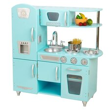 Blue Vintage Kitchen