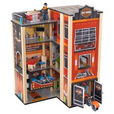 Harley-Davidson 19-Piece Garage Play Set