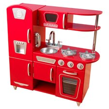 <strong>KidKraft</strong> Red Vintage Kitchen