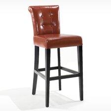 "Urbanity Sangria 26"" Bar Stool with Cushion"