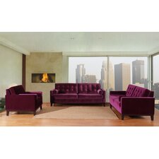 <strong>Armen Living</strong> Centennial Velvet Living Room Collection