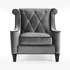 Barrister Velvet Chair