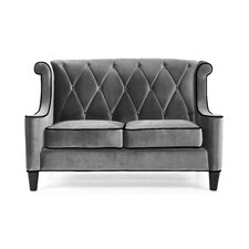 Barrister Velvet Loveseat