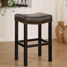 "<strong>Armen Living</strong> Tudor 30"" Wrangler Backless Barstool"