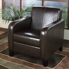 <strong>Armen Living</strong> Leather Chair