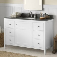 "Briella 48"" Wood Cabinet Vanity Set"