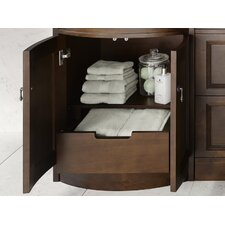 "Traditions Marcello 24.38"" Café Walnut Vanity Base"