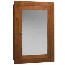 "Neo Classic Modular 32.38"" H x 24.5"" W Surface Mount Cinnamon Medicine Cabinet"