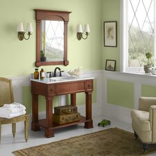 "Traditions Palermo 36"" W Bathroom Colonial Cherry Vanity Set"