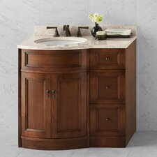 "Traditions Marcello 24"" W Colonial Cherry Vanity Set"