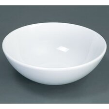 <strong>Ronbow</strong> Round Ceramic Vessel Bathroom Sink without Overflow