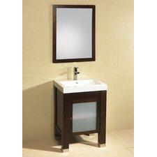 "Modular Pomona 24"" Single Bathroom Vanity Set"