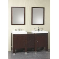 "Modular 24"" Single Bathroom Vanity Set"