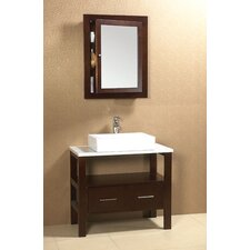 "Contempo Rowena 36"" Bathroom Vanity Set"