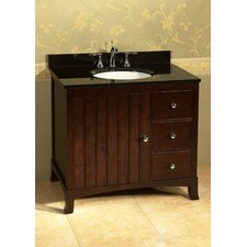 "Neo Classic Hampton 36"" Bathroom Vanity Set"