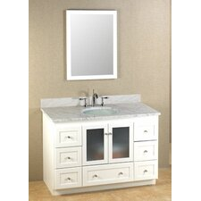 "Modular 48"" Shaker Bathroom Vanity Set"