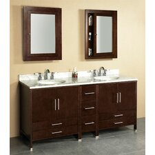 "Luna 72"" Bathroom Vanity Set"