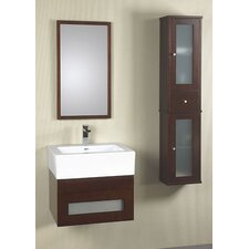 "<strong>Ronbow</strong> Modular Rebecca 23"" Wall Mount Bathroom Drawer Vanity Set"