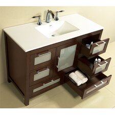 "Contempo Athena 49"" Bathroom Vanity Set"