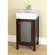 "Contempo Cami 18"" Bathroom Vanity Set"