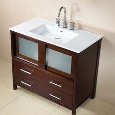 "Contempo Minerva 36.6"" Bathroom Vanity Set"